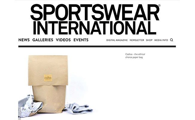 Sustainability – What's inside the package? Cadica on Sportswear International